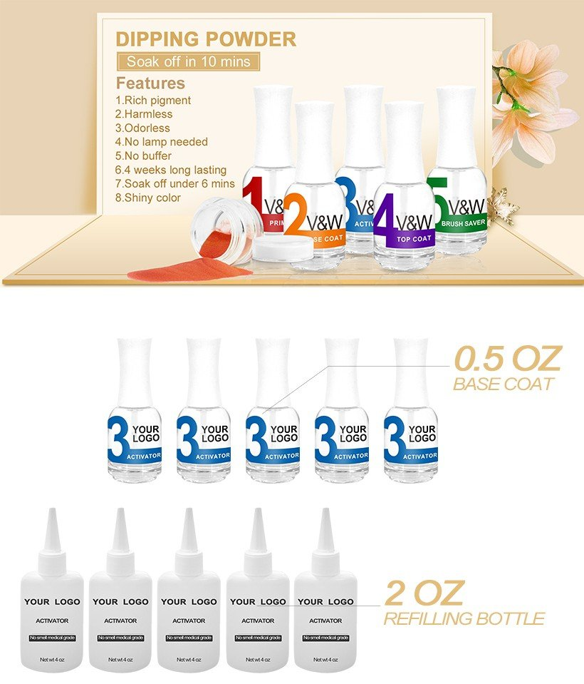 VW-Find Dipping Powder Activator | Buy Chrome Powder For Nails