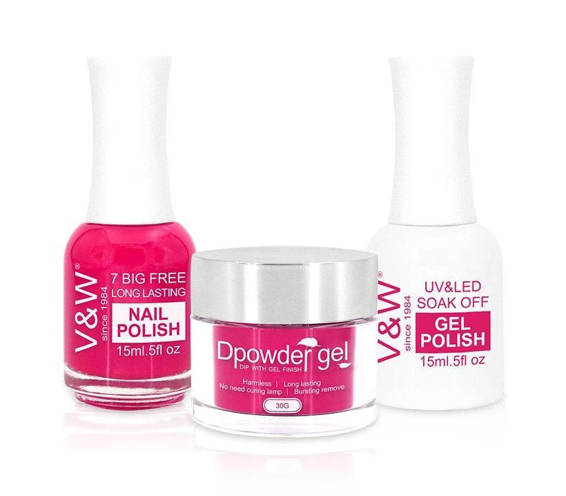 VW color acrylic nail powder easy remove for wedding