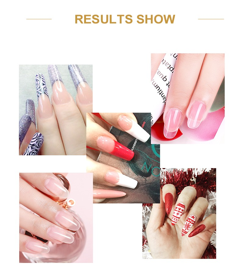 odorless powder french nails color easy remove for home-7