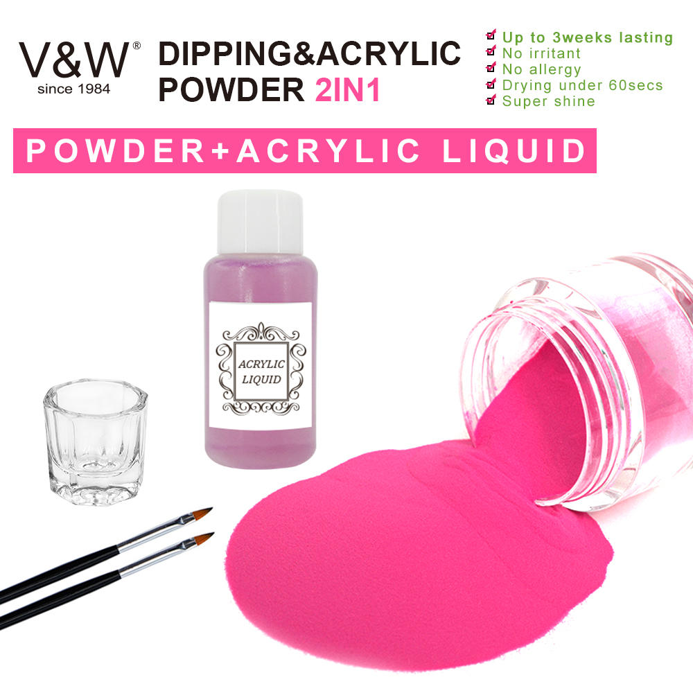 Dipping&acrylic powder 2in1