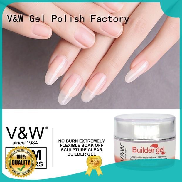 UV Gel Polish Wholesale foil top metallic VW Brand