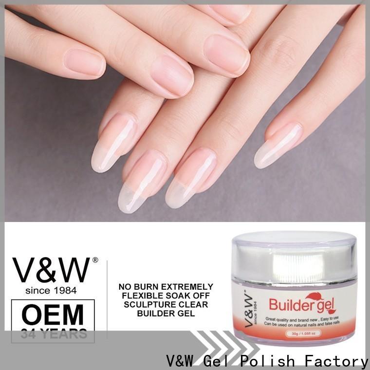 VW best private label gel nail polish varnish for work
