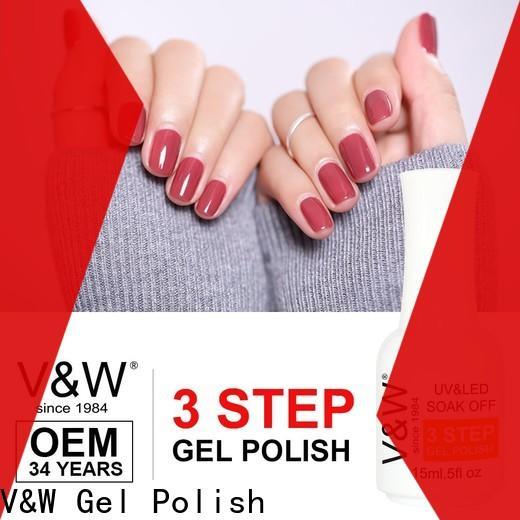 VW glitter uv nail polish set manufacturer for daily life