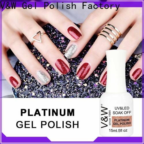 VW natural nail polish sites for evening party