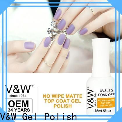 VW long lasting led nail varnish mood changing for wedding