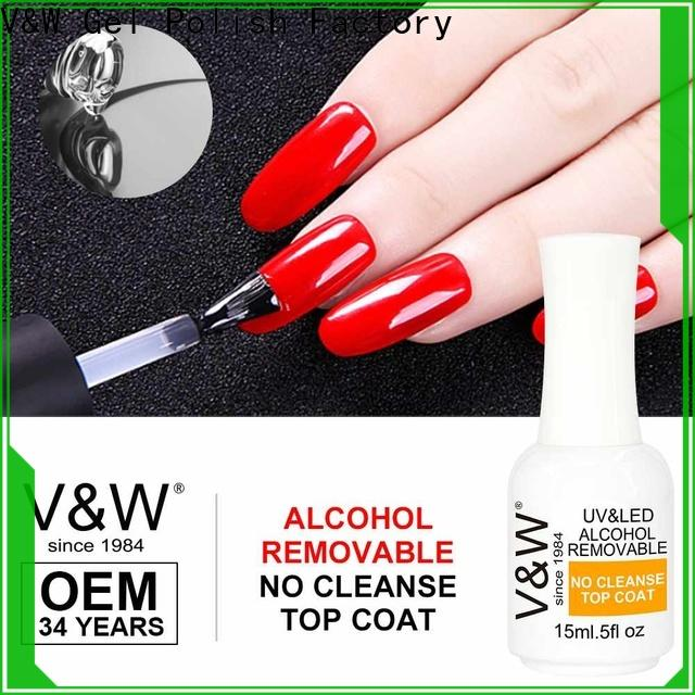 VW builder uv gel nail salon for wedding