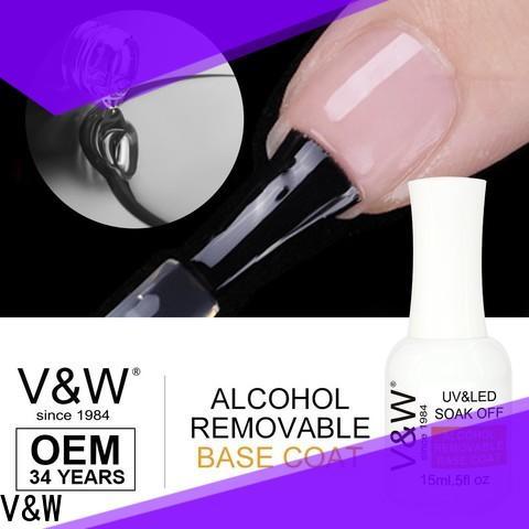 VW led nail polish production for wedding