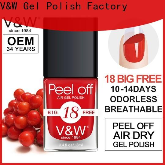 VW permanent nail polish eco friendly for evening party