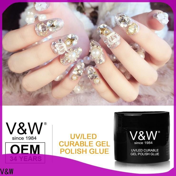 VW long lasting wholesale uv gel nail polish varnish for work