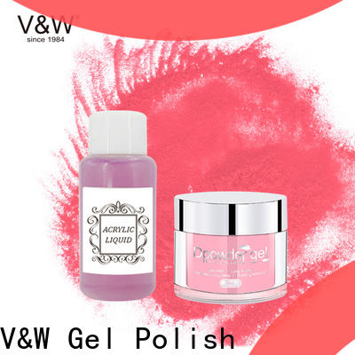 VW polish nail dipping powder reviews for sale for party