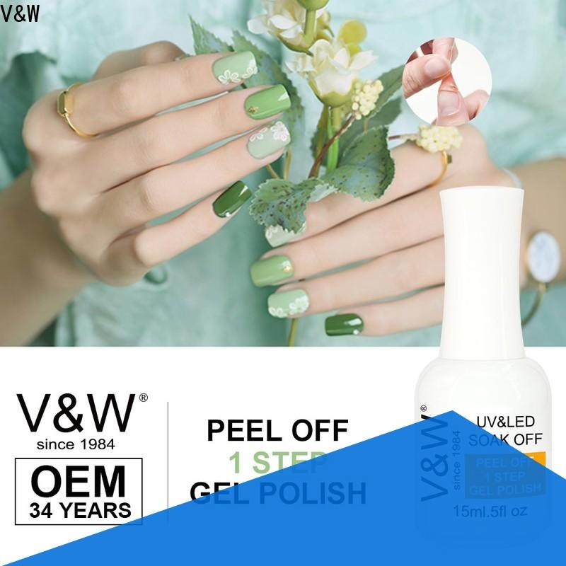 VW odorless gel nail polish without uv lamp manufacturer for evening party
