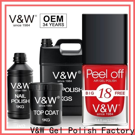 VW treatment sation nail polish esay remove for wedding