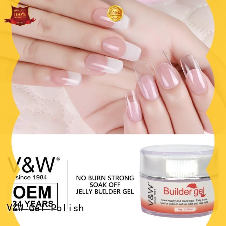 VW removable led gel manicure for wedding