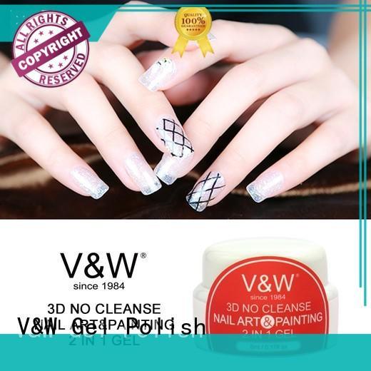 color velvet VW Brand UV Gel Polish Wholesale factory