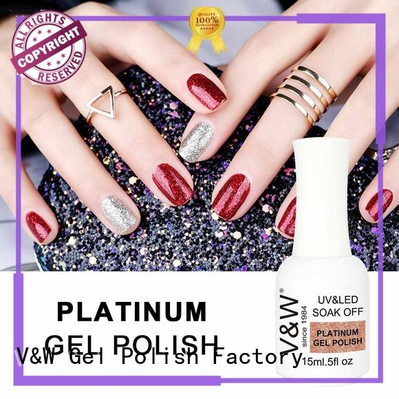 Hot dry Gel Polish Wholesale top quick VW Brand