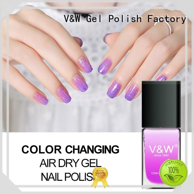 metallic gel polish without uv matte mood changing for daily life