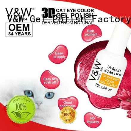 VW odorless speckled nail polish for sale for work