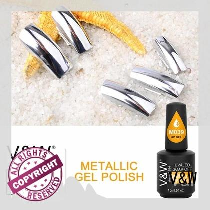 metallic uv gel nail colours aluminum for sale for home