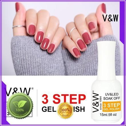 acid metallic thin VW Brand UV Gel Polish Wholesale factory