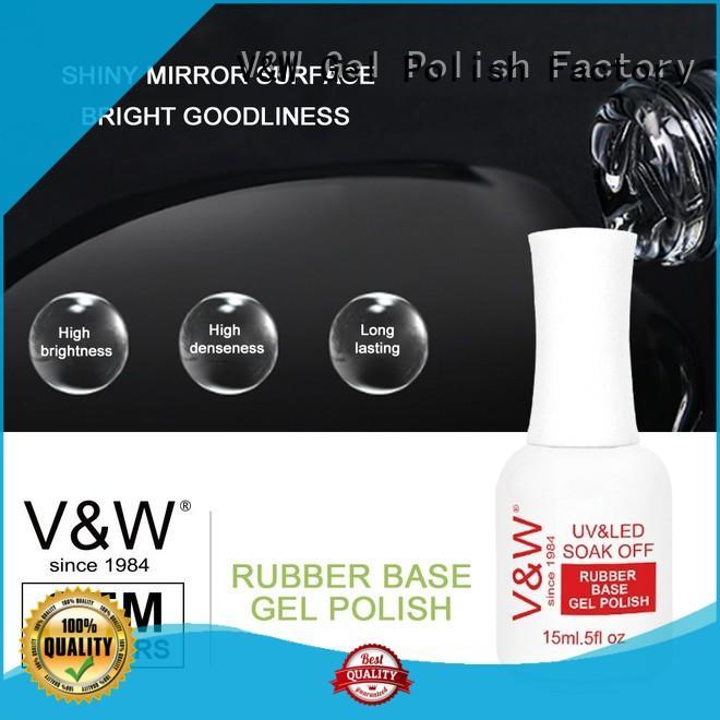 VW metallic cheap uv nail polish manufacturer for daily life