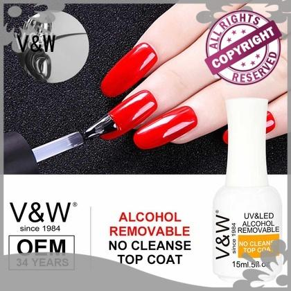 VW metallic led gel nail varnish varnish for office