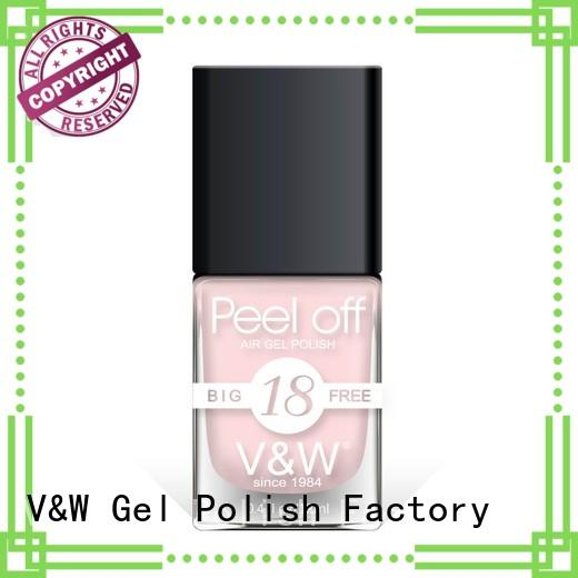VW beautiful dark gel nail polish factory for evening party