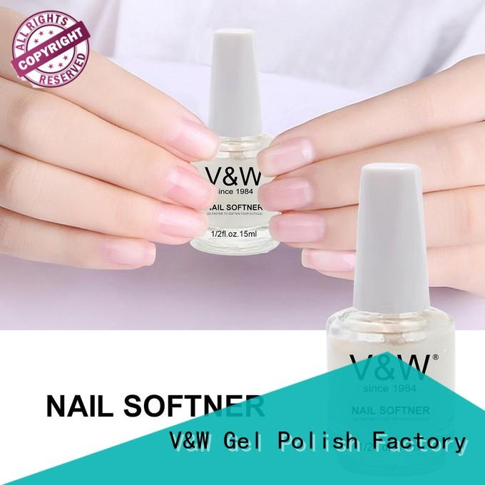 VW salon gel nail polish esay remove for office