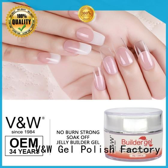 VW one gel nail polish for uv lamp for sale for home
