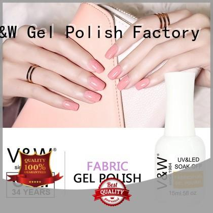 VW extend uv gel nail colours varnish for party