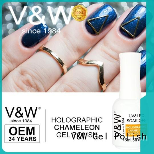 VW quick uv gel nail colors varnish for home