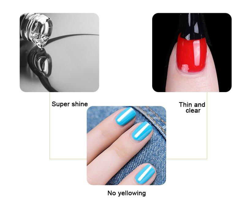 VW odorless solar nail powder colors smoothly for party-2