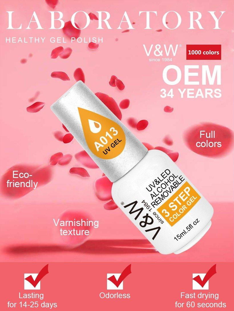 VW-High-quality Alcohol Removable Uv Gel Nail Polish 15 Ml Soak Off Nail Three-1