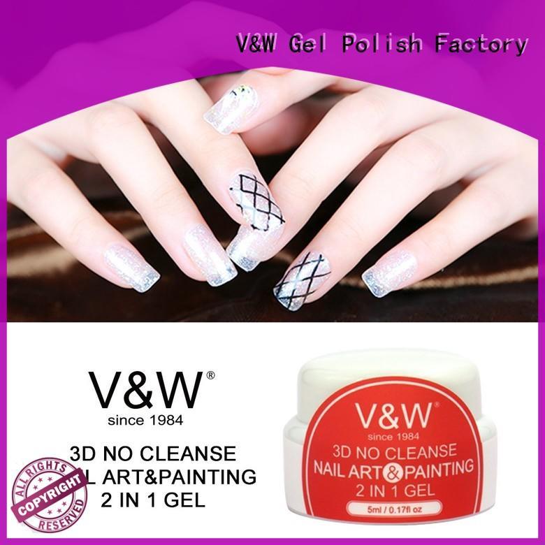 VW odorless gel nail polish bulk varnish for wedding