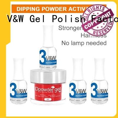 VW odorless dip nails at home supply for office