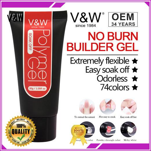 Quality VW Brand UV Gel Polish Wholesale glitters