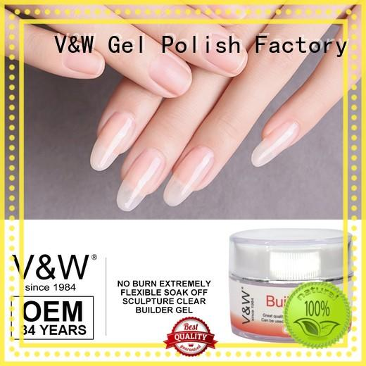 Hot cleanse UV Gel Polish Wholesale cream VW Brand