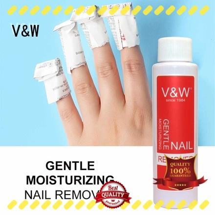 VW coat gold gel nail polish wholesale for evening party
