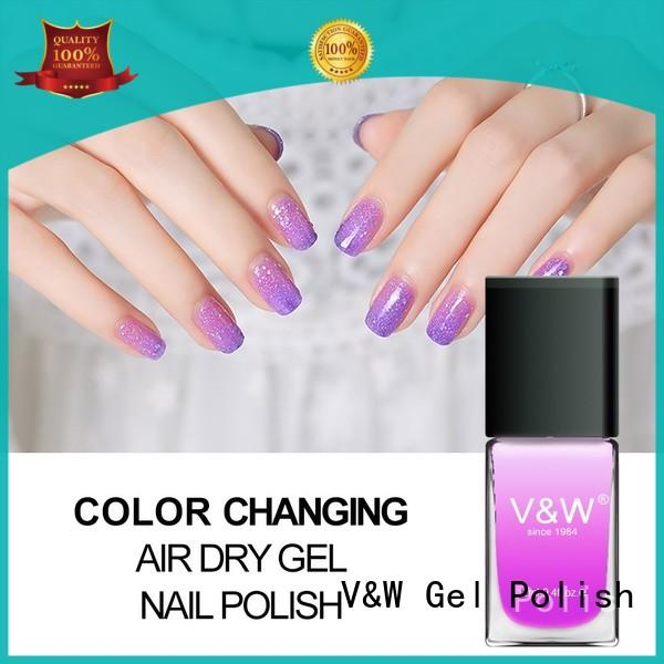 Quality VW Brand UV Gel Polish Wholesale extend step