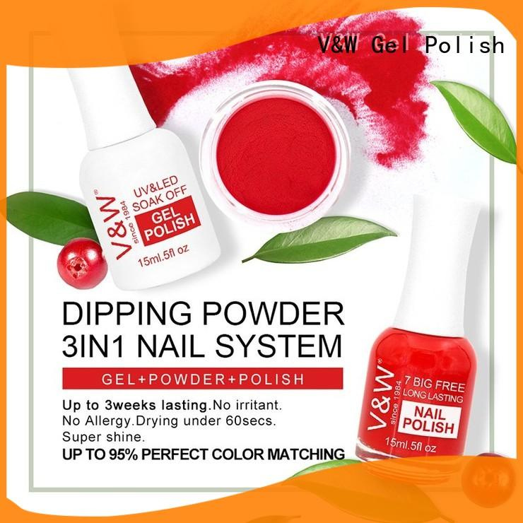powder gel nail polish easy remove for home VW