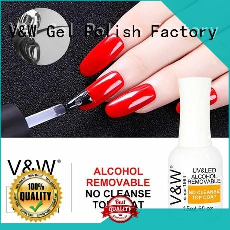 VW Brand glitters holographic fast natural Gel Polish Wholesale
