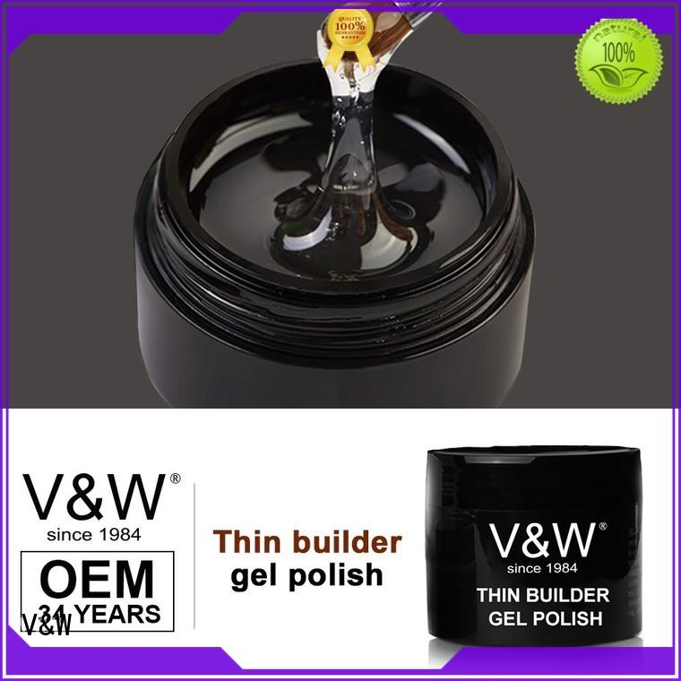 VW glitter speckled nail polish for daily life