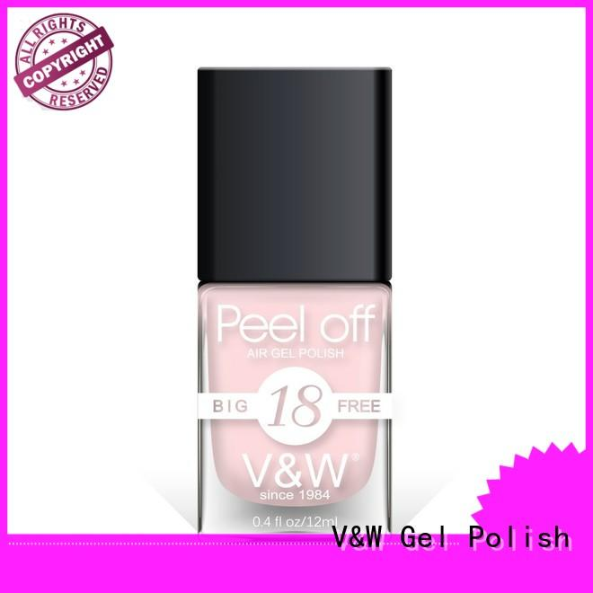 VW professional grey gel nail polish factory for office