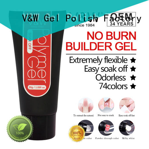 VW quick dry pink nail polish in bulk for cheap shopping