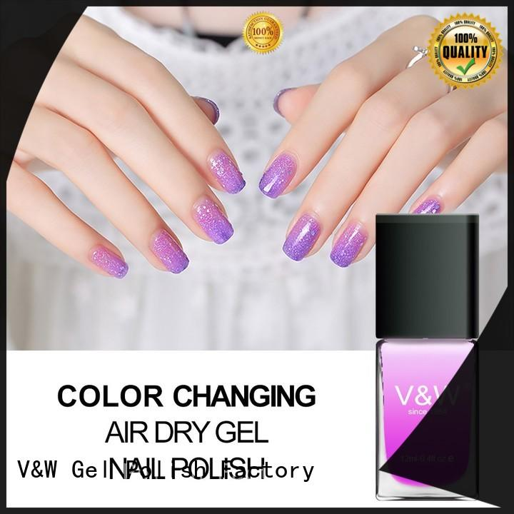 VW Brand no extensions pearl UV Gel Polish Wholesale
