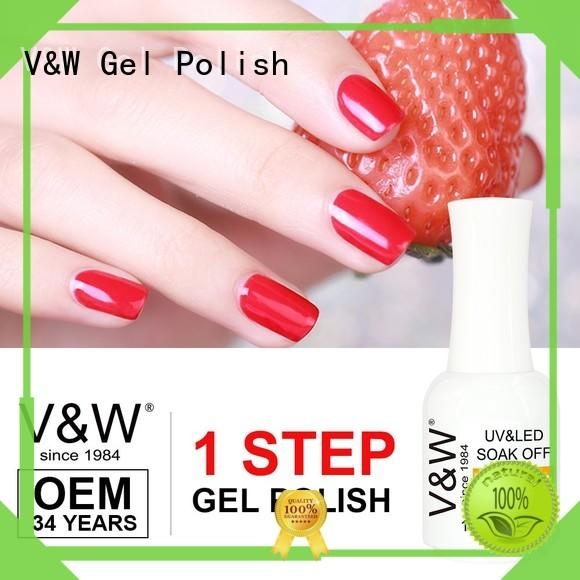 VW glue gel uv nail mood changing for daily life