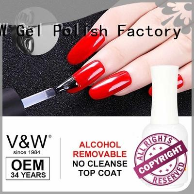 VW top uv gel nail varnish manufacturer for shopping