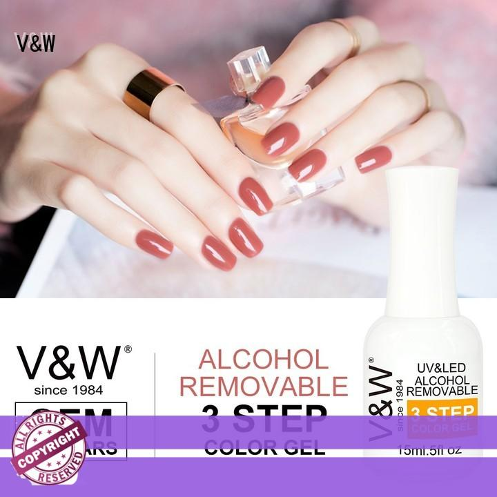 VW odorless uv gel polish eco friendly for wedding
