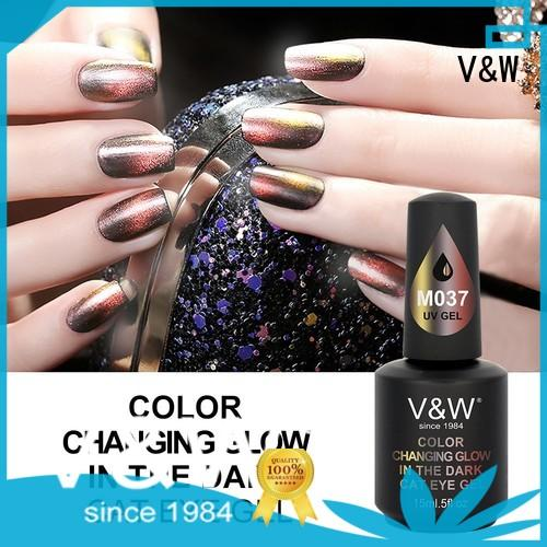 VW crystal uv cured nail polish manufacturer for office
