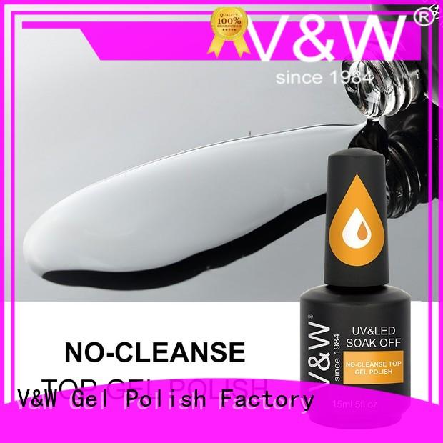 VW metallic uv gel nail colors varnish for party