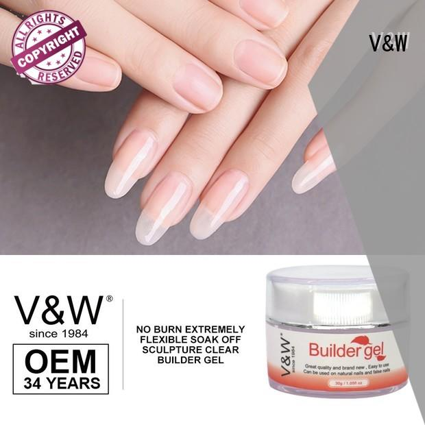 VW mirror uv gel nail colors mood changing for work